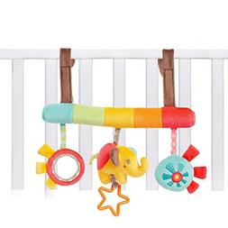Baby Car Seat Toy Stroller Toys, Bed Stuff for Infant Kids,