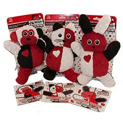 Infant stuffed animal 3 pack, High Contrast for Brain Stimul