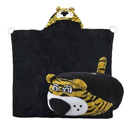 Comfy Critters Stuffed Animal Blanket – College Mascot, Un