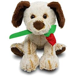 Colonel Pickles Novelties Stuffed Animal Dog with Rose for H