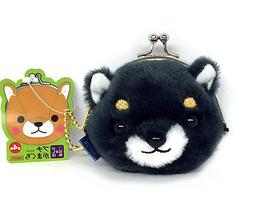 AMUSE Stuffed Animal Mameshiba San Kyodai Gamakuchi Coin Pou