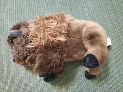 Wild Republic Stuffed Animal Plush Doll Brown Bison Buffalo