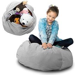 "LARGE Stuffed Animal Storage Bean Bag - ""SOFT 'n SNUGGLY"