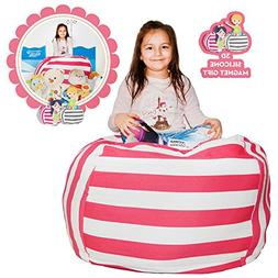 Hold The Door EXTRA LARGE Stuffed Animal Storage Bean Bag Ch