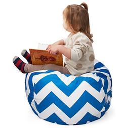 Smart Additions Stuffed Animal Storage Bean Bag Chair - 2 in