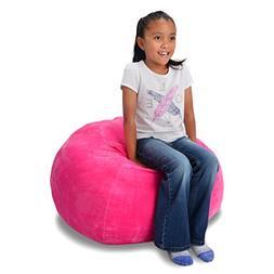 ddmy import inc Stuffed Animal Storage Bean Bag Pink Extra L