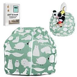 Kasius Stuffed Animal Storage Bean Bag Chair, EXTRA LARGE to