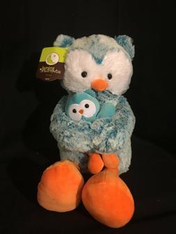 "Animal Adventure Stuffed Animals Owl & Owlet 16"" Brand New"