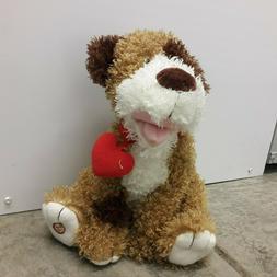 Hallmark Stuffed Animals Plush Dog Pup Valentine Buddy Sound