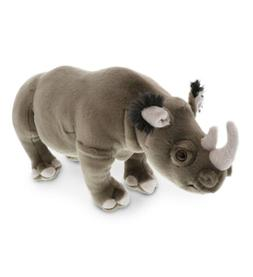 Dollibu Stuffed Animals Plush Wild Collection Soft Rhinocero