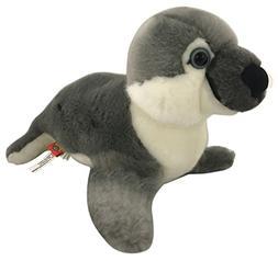 "Wildlife Tree 9"" Stuffed Arctic Seal Plush Floppy Animal Hei"