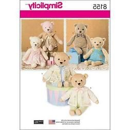 STUFFED BEARS WITH CLOTHES-ONE SIZE