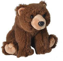 "STUFFED BROWN BEAR - by Wild Republic - 12"" - BRAND NEW - #1"