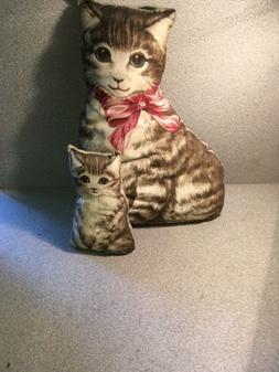 Stuffed Cat And Kitten
