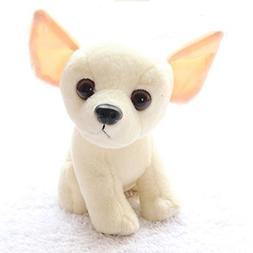 Stuffed Chihuahua Dog Puppy Toy Realistic Stuffed Animals by