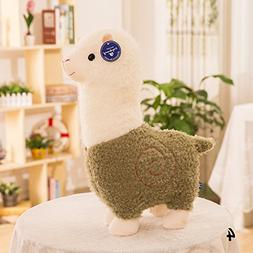 WXLAA 28cm Stuffed Doll Alpaca Doll Lovely Grass Mud Horse P