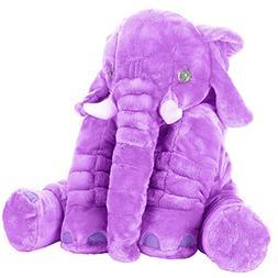 Stuffed Elephant Animal Fluffy Large Stuffed Elephant Plush