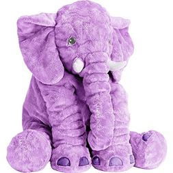 Stuffed Elephant Animal Fluffy Large Stuffed Elephant Plush