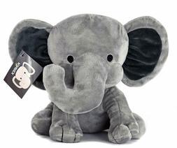 KINREX Stuffed Elephant Animal Plush - Toys for Baby, Boy, G