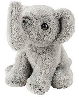 "Wildlife Tree 5"" Stuffed Elephant Calf Zoo Animal Plush Flop"