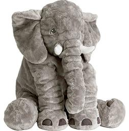 CHICVITA Large Stuffed Elephant Soft Animal Plush Toys, Grey