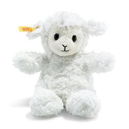Steiff Stuffed Fuzzy Baby Lamb - Soft And Cuddly Plush Anima