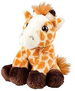 "Wildlife Tree 5"" Stuffed Giraffe Calf Zoo Animal Plush Flopp"