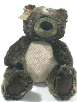 Pier 1 Stuffed Grizzly Bear Carter Plush Bear Stuffed Animal