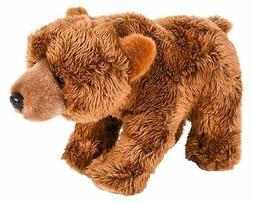 "Wildlife Tree 12"" Stuffed Grizzly Bear Plush Floppy Animal H"