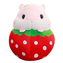 DORIC Plush Stuffed Hamster for Boys Girls Soft Kawaii Anima