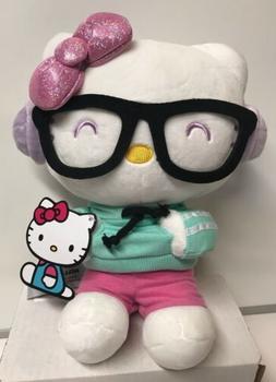 "Gund Stuffed Hello Kitty 9.5"" Kawaii Style, New With Tag"