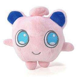 BestKept Toys Stuffed Jigglypuff - Plush Animal Pokemon That
