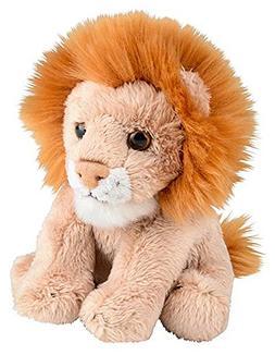 "Wildlife Tree 5"" Stuffed Lion Zoo Animal Plush Floppy Animal"