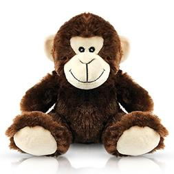 EpicKids Stuffed Monkey - Plush Animal That's Suitable for