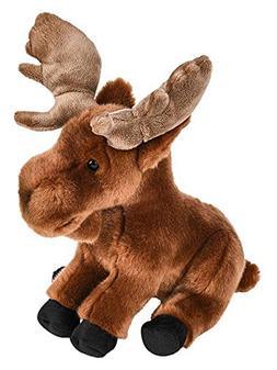 """Wildlife Tree 9"""" Stuffed Moose Plush Floppy Animal Heirloom"""