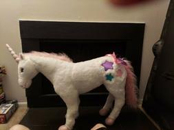 Melissa & Doug Stuffed Plush Jumbo Unicorn NWT $119 Fantasy