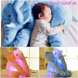 Stuffed Plush Large 60 cm Elephant Glowing Toy For Babies