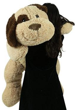 Big Plush Extra Large Stuffed Puppy Dog 48 Inch Soft 4 Foot
