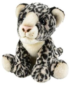 "Wildlife Tree 12"" Stuffed Snow Leopard Plush Floppy Animal H"