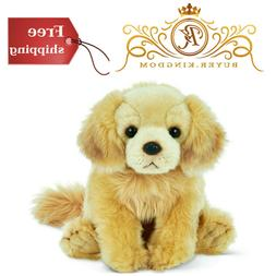 Stuffed Toy Plush Golden Retriever Dog Puppy Animal Collecti