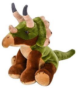 "Wildlife Tree 12"" Stuffed Triceratops Plush Floppy Animal He"