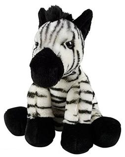 "Wildlife Tree 12"" Stuffed Zebra Plush Floppy Animal Heirloom"
