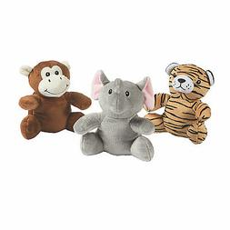 Stuffed Zoo Animals With Sound - Toys - 3 Pieces