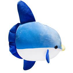 Sunfish Stuffed Animal   23.5'' Large Fish Plush   Way Soft