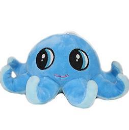Super Cute Big Eyes Stuffed Animal Octopus Plush Doll Toy Bl