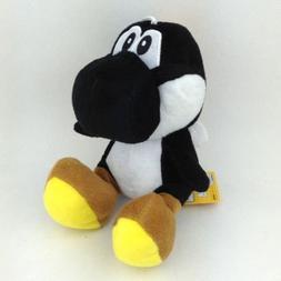 """Super Mario Bros Plush 5.9""""/15cm Black Sitting Yoshi Charact"""