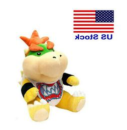 super mario bros plush bowser jr baby
