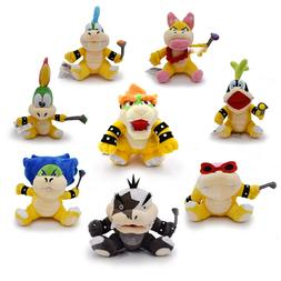 Super Mario Bros Plush Koopa Soft Stuffed Animals - Bowser,