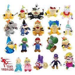 Super Mario Bros. Plush Soft  Stuffed Doll Animals Kid Gift