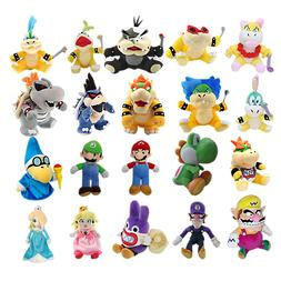 Super Mario Bros. Plush Toy Stuffed Doll Soft Animals Kids B